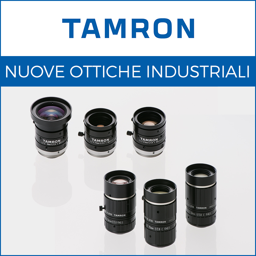 Nuove serie di ottiche Machine Vision MA23F e MA111F-VIR