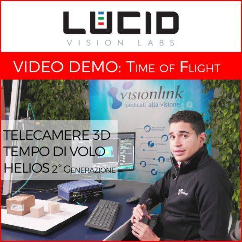Video dimostrativo: come funzionano le telecamere Time of Flight Helios2?