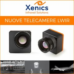 Xenics presenta la nuova telecamera LWIR Dione S 640
