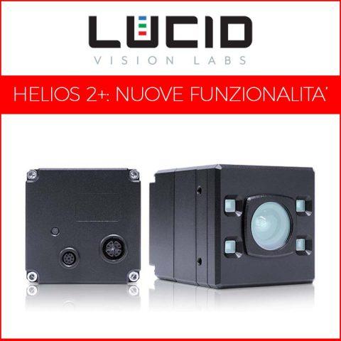 Nuova telecamera ToF di LUCID: funzionalità HDR e High-Speed per la Helios2+