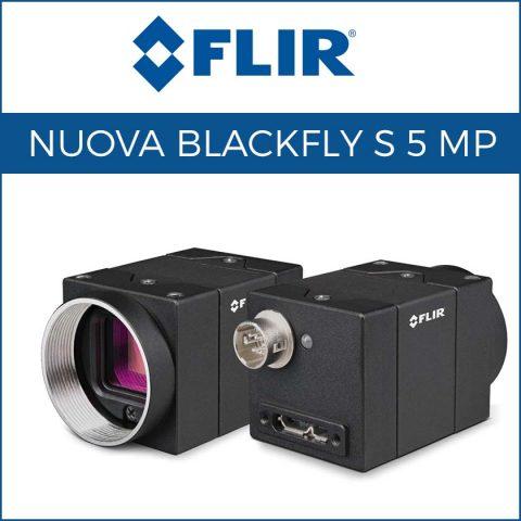 Nuova telecamera GigE Blackfly S da 5 MP