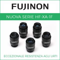 HF-XA-1F di Fujinon: la famiglia di obiettivi passo C per impieghi gravosi